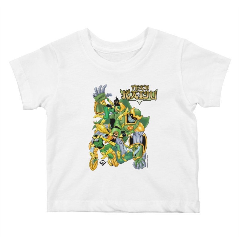 Team Kaiju Falling  Kids Baby T-Shirt by The8spot's Artist Shop