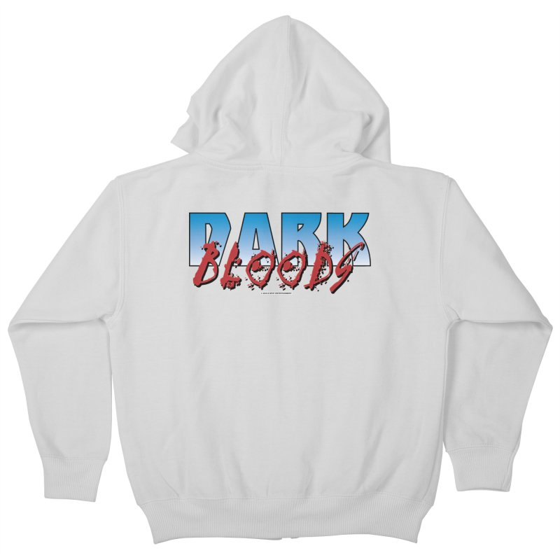 Dark Blood Logo Shirt Kids Zip-Up Hoody by The8spot's Artist Shop