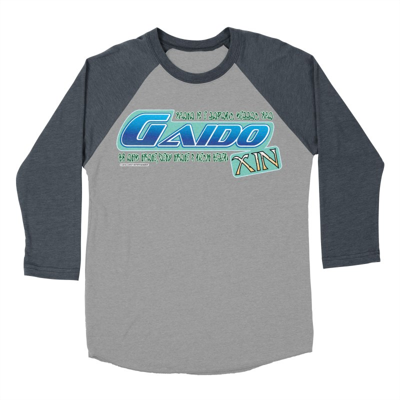 Gaido Xin Logo Shirt Men's Baseball Triblend T-Shirt by The8spot's Artist Shop