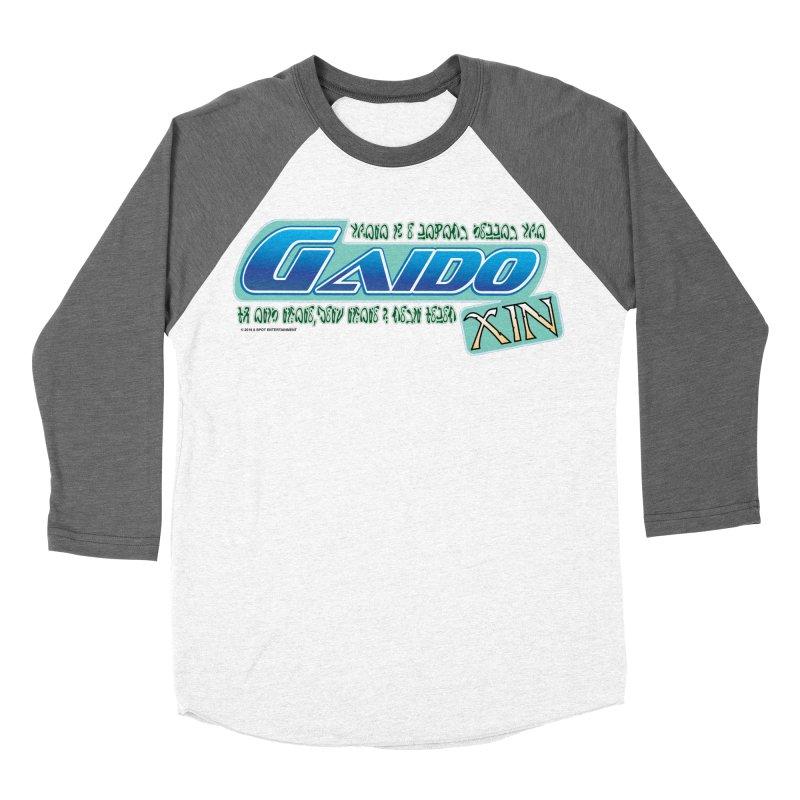 Gaido Xin Logo Shirt Men's Baseball Triblend T-Shirt by The8spot's Artist Shop