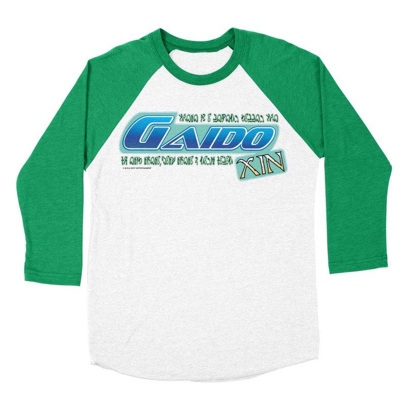Gaido Xin Logo Shirt Men's Baseball Triblend Longsleeve T-Shirt by The8spot's Artist Shop