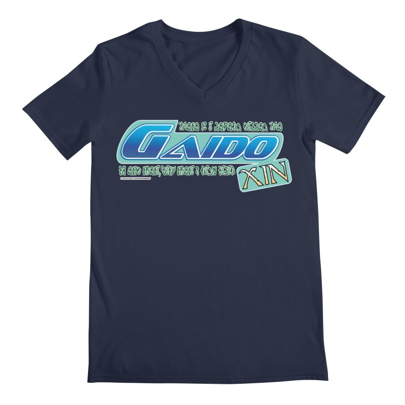 Gaido Xin Logo Shirt Men's V-Neck by The8spot's Artist Shop