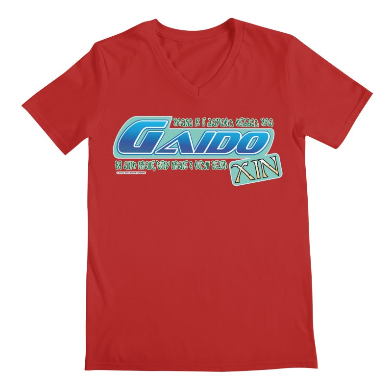 Gaido Xin Logo Shirt Men's V-Neck by The8spot's Artist Shop