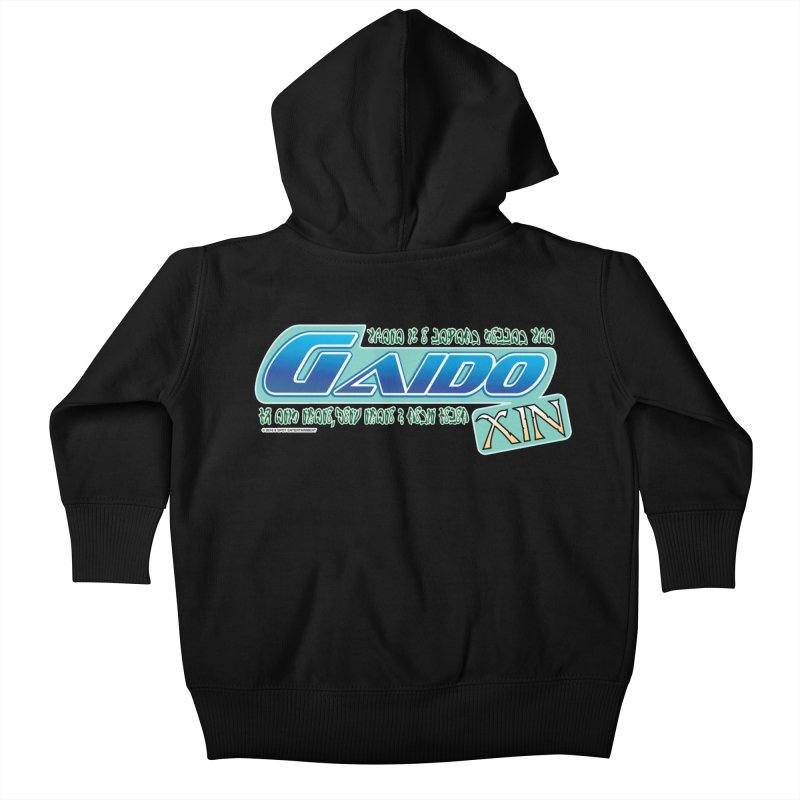 Gaido Xin Logo Shirt Kids Baby Zip-Up Hoody by The8spot's Artist Shop