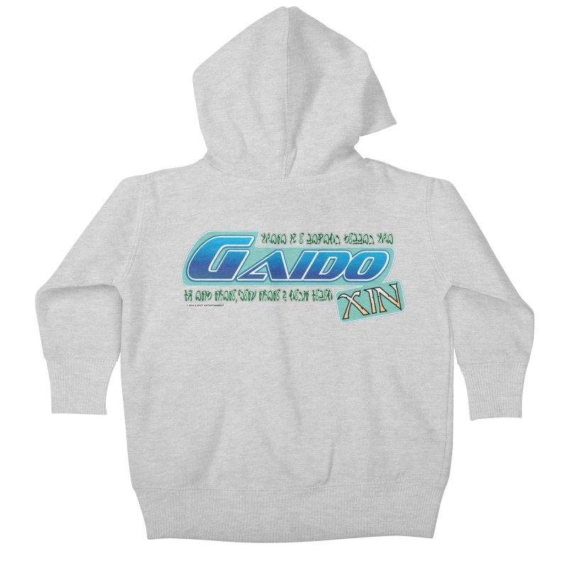 Gaido Xin Logo Shirt Kids Baby Zip-Up Hoody by The8spot's Artist Shop