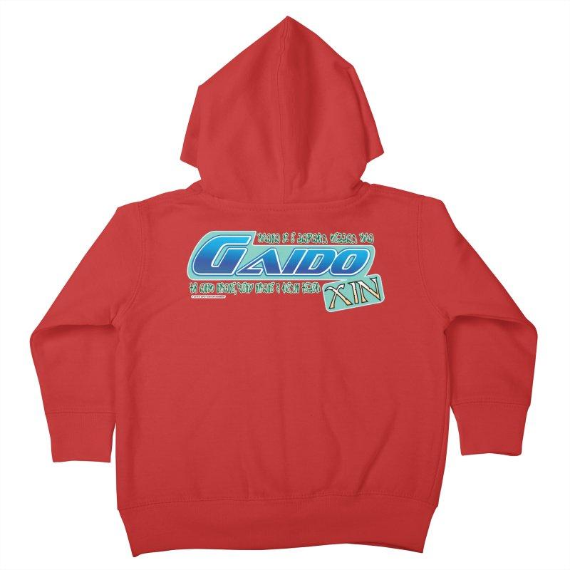 Gaido Xin Logo Shirt Kids Toddler Zip-Up Hoody by The8spot's Artist Shop