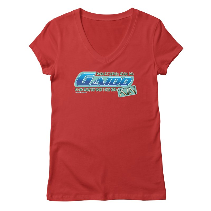 Gaido Xin Logo Shirt Women's Regular V-Neck by The8spot's Artist Shop