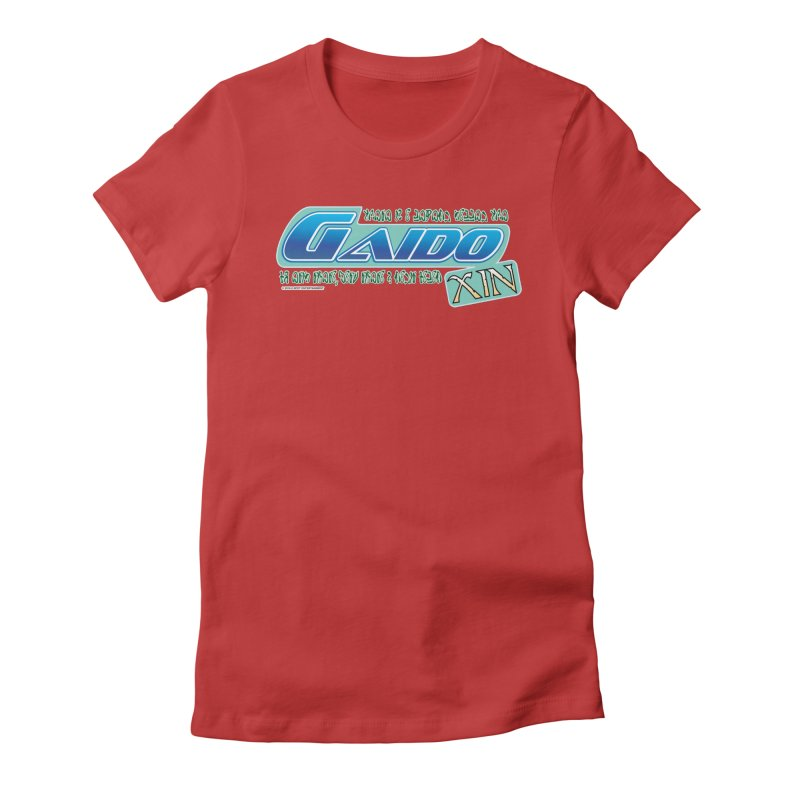 Gaido Xin Logo Shirt Women's Fitted T-Shirt by The8spot's Artist Shop