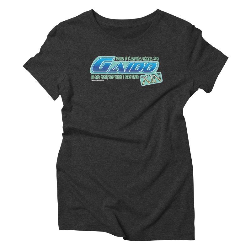 Gaido Xin Logo Shirt Women's Triblend T-shirt by The8spot's Artist Shop