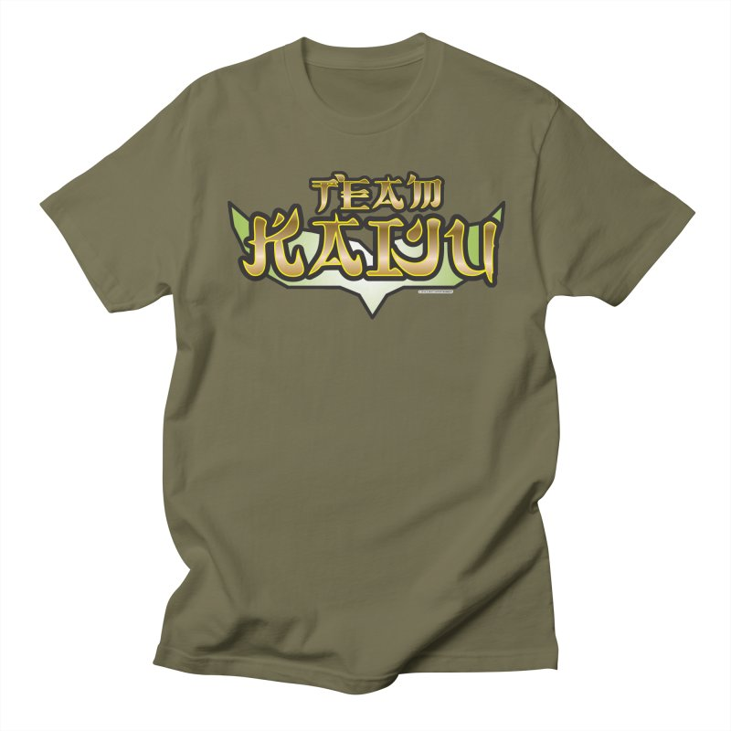 Team Kaiju Logo Shirt Men's Regular T-Shirt by The8spot's Artist Shop