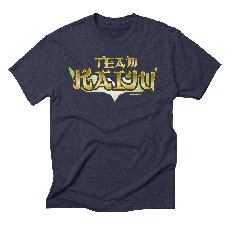 Team Kaiju Logo Shirt Men's Triblend T-Shirt by The8spot's Artist Shop
