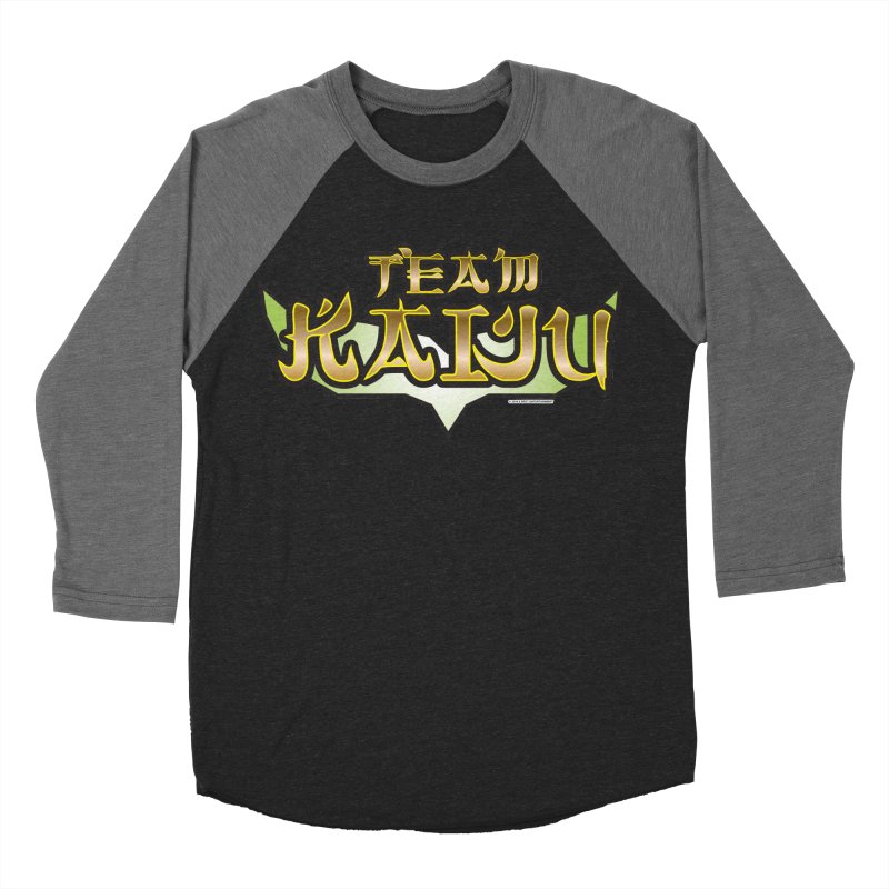 Team Kaiju Logo Shirt Women's Baseball Triblend Longsleeve T-Shirt by The8spot's Artist Shop