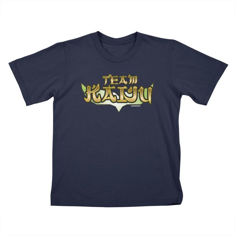 Team Kaiju Logo Shirt Kids Toddler T-Shirt by The8spot's Artist Shop