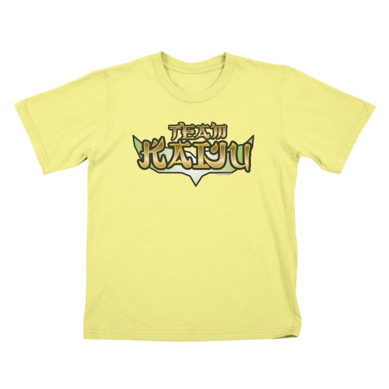 Team Kaiju Logo Shirt Kids T-shirt by The8spot's Artist Shop