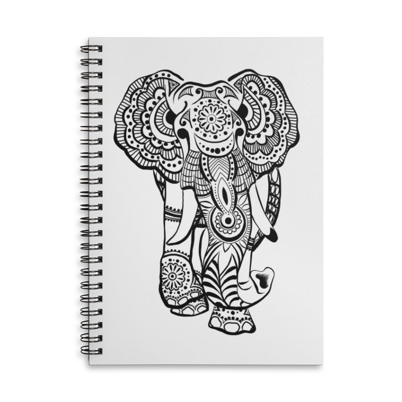 Elly 1 Accessories Notebook by The Artful Cricket