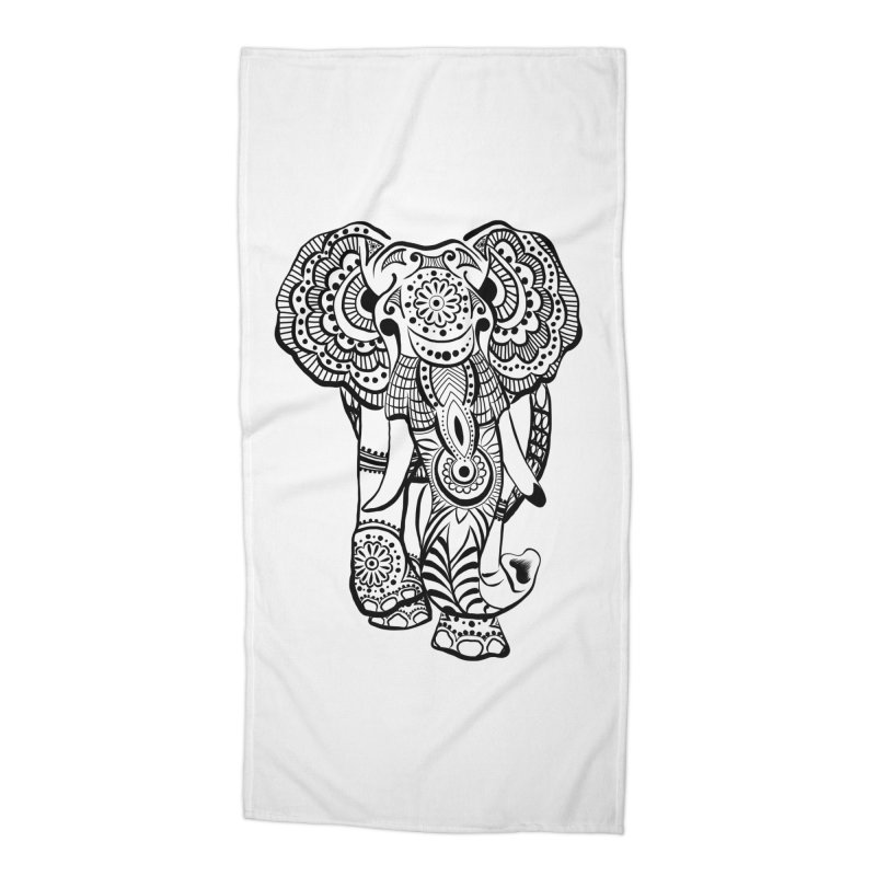 Elly 1 Accessories Beach Towel by The Artful Cricket
