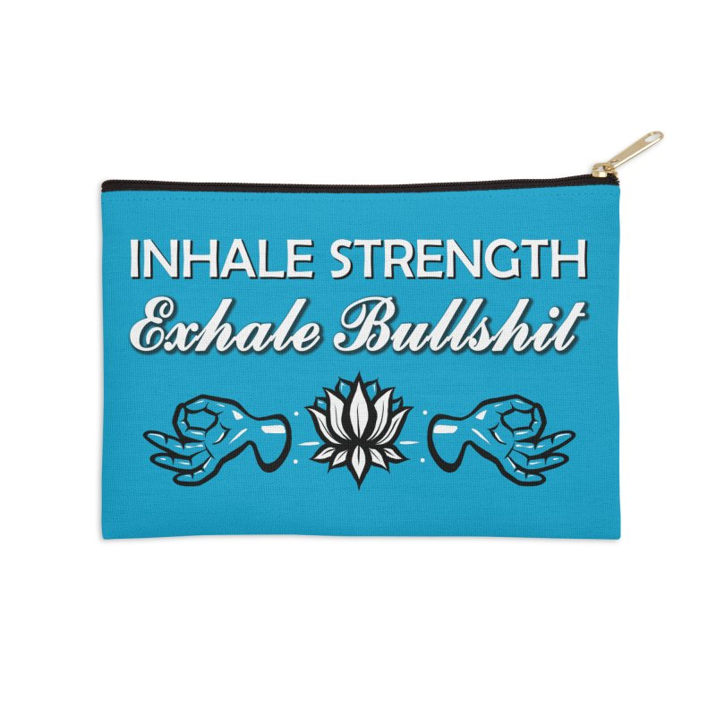 Just Breathe Accessories Zip Pouch by The Artful Cricket