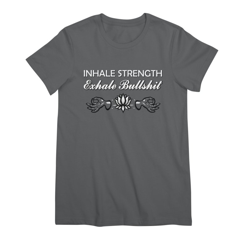 Just Breathe Women's T-Shirt by The Artful Cricket