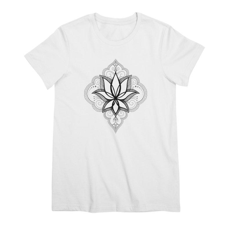 Bur-lotus-esque Women's T-Shirt by The Artful Cricket