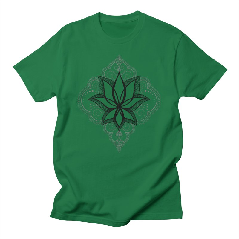 Bur-lotus-esque Men's T-Shirt by The Artful Cricket