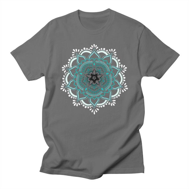 Mid-Winter Mandala Men's T-Shirt by The Artful Cricket