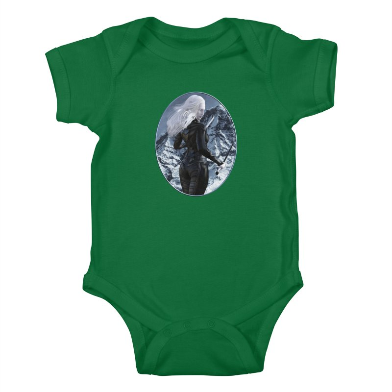 ROTI - Sal in the Snow Kids Baby Bodysuit by The Book Muse's Shop