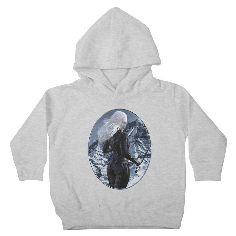 ROTI - Sal in the Snow Kids Toddler Pullover Hoody by The Book Muse's Shop