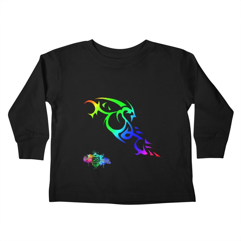 It Matters (Colorful) Kids Toddler Longsleeve T-Shirt by The Book Muse's Shop