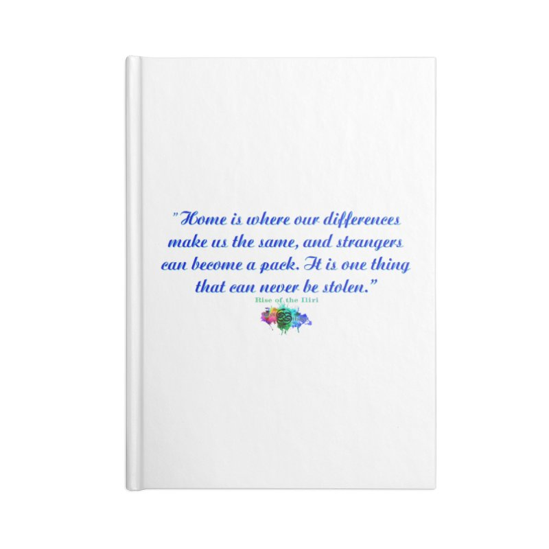 Home Quote Accessories Notebook by The Book Muse's Shop