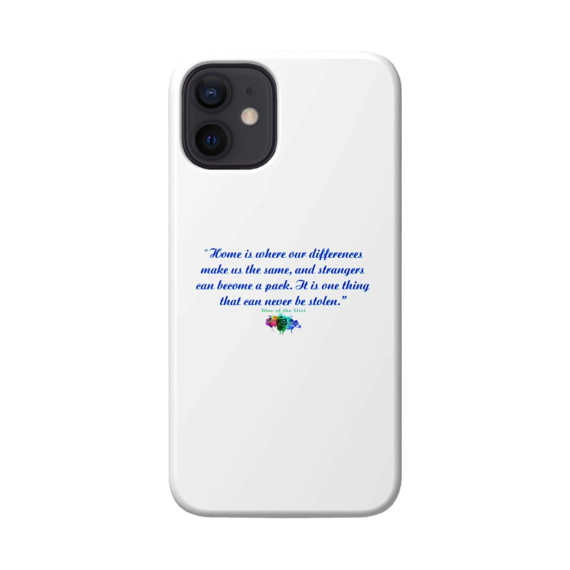 Home Quote Accessories Phone Case by The Book Muse's Shop