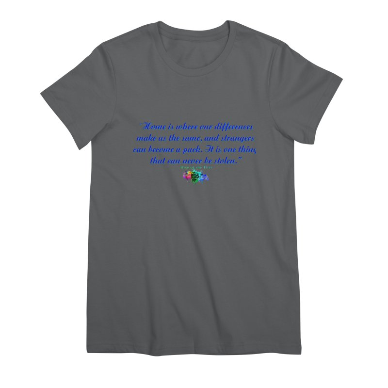 Home Quote Women's T-Shirt by The Book Muse's Shop