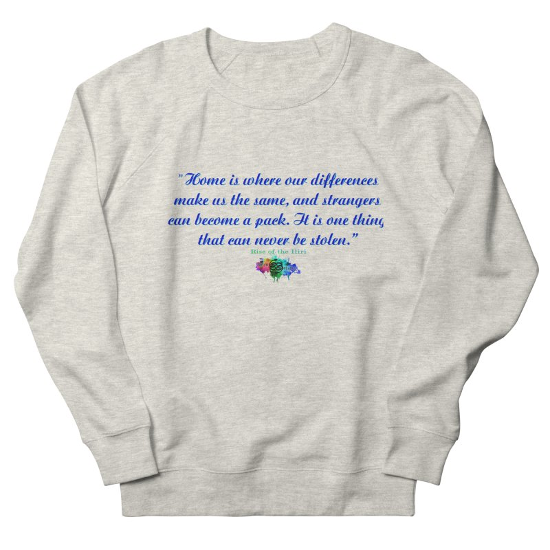 Home Quote Men's Sweatshirt by The Book Muse's Shop