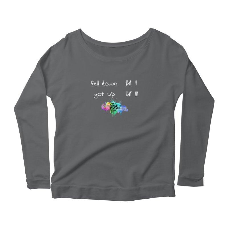 Fell Down/Got up Women's Longsleeve T-Shirt by The Book Muse's Shop