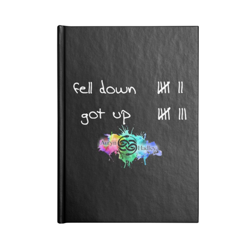 Fell Down/Got up Accessories Notebook by The Book Muse's Shop