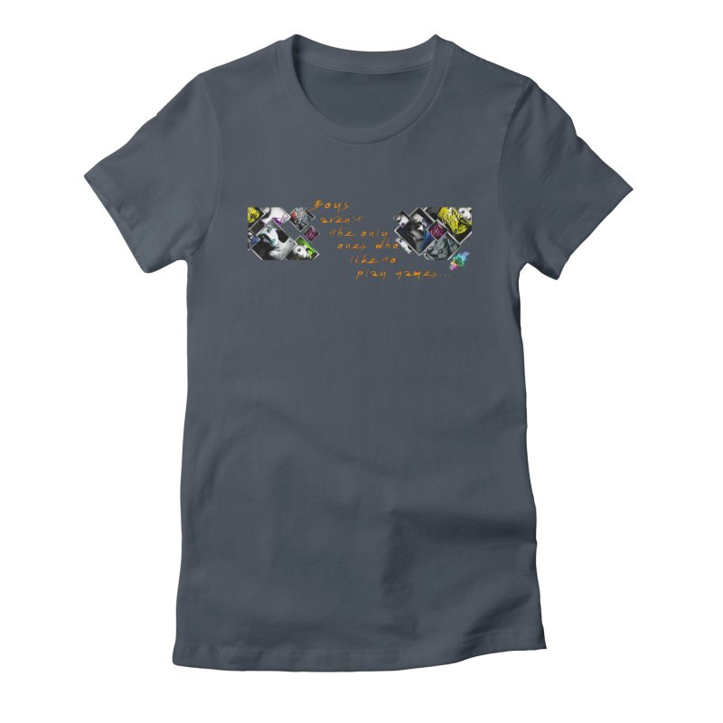 Gamer Girls quote Women's T-Shirt by The Book Muse's Shop