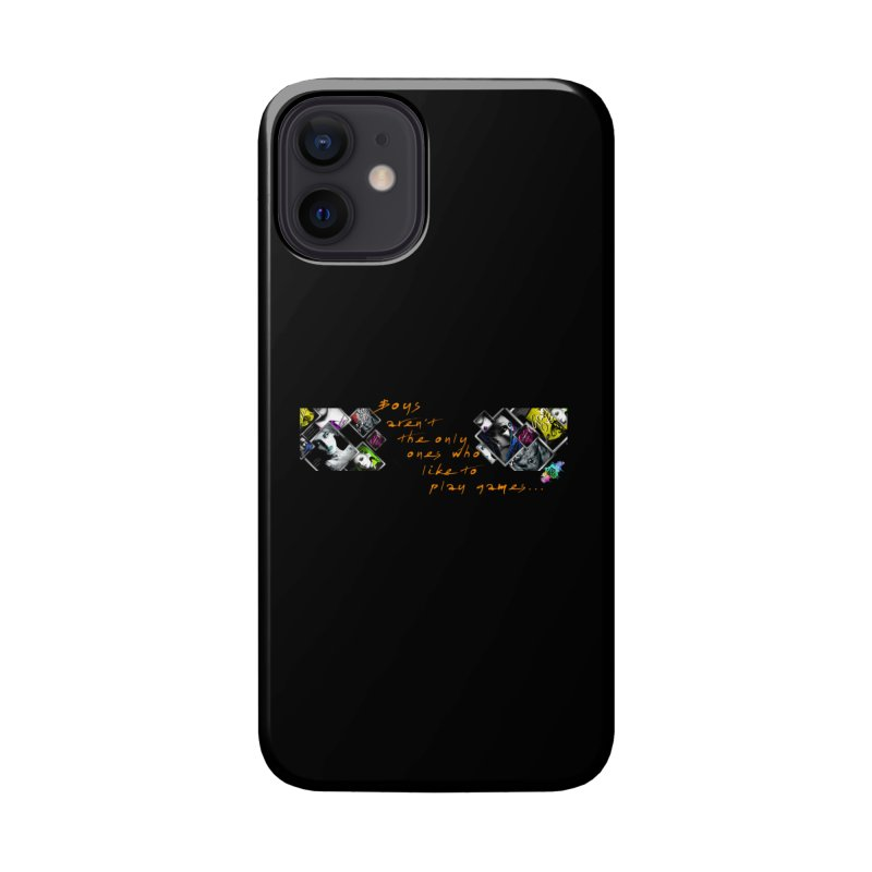 Gamer Girls quote Accessories Phone Case by The Book Muse's Shop