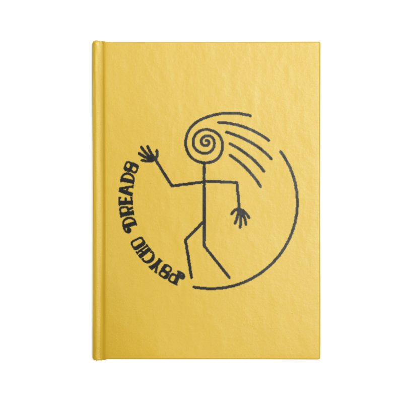 Psychodreads Logo (Gamer Girls) Accessories Notebook by The Book Muse's Shop