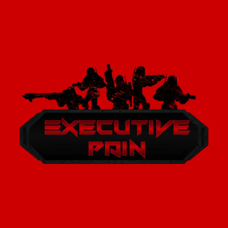 Executive Pain Logo (Gamer Girls) Men's T-Shirt by The Book Muse's Shop