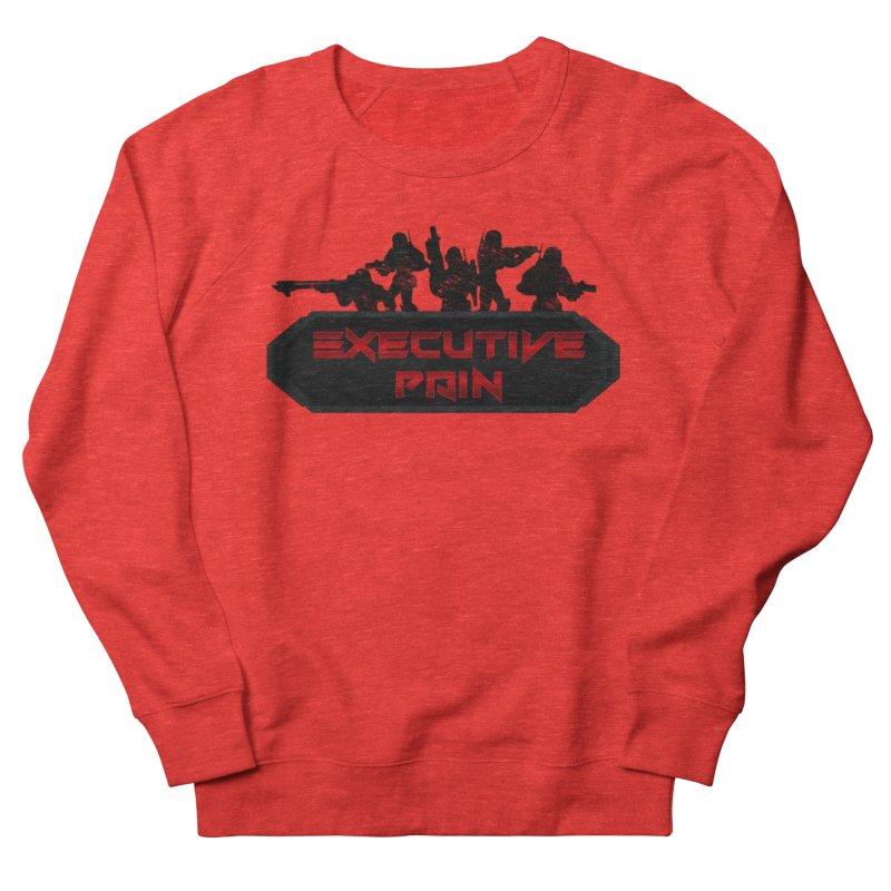 Executive Pain Logo (Gamer Girls) Men's Sweatshirt by The Book Muse's Shop