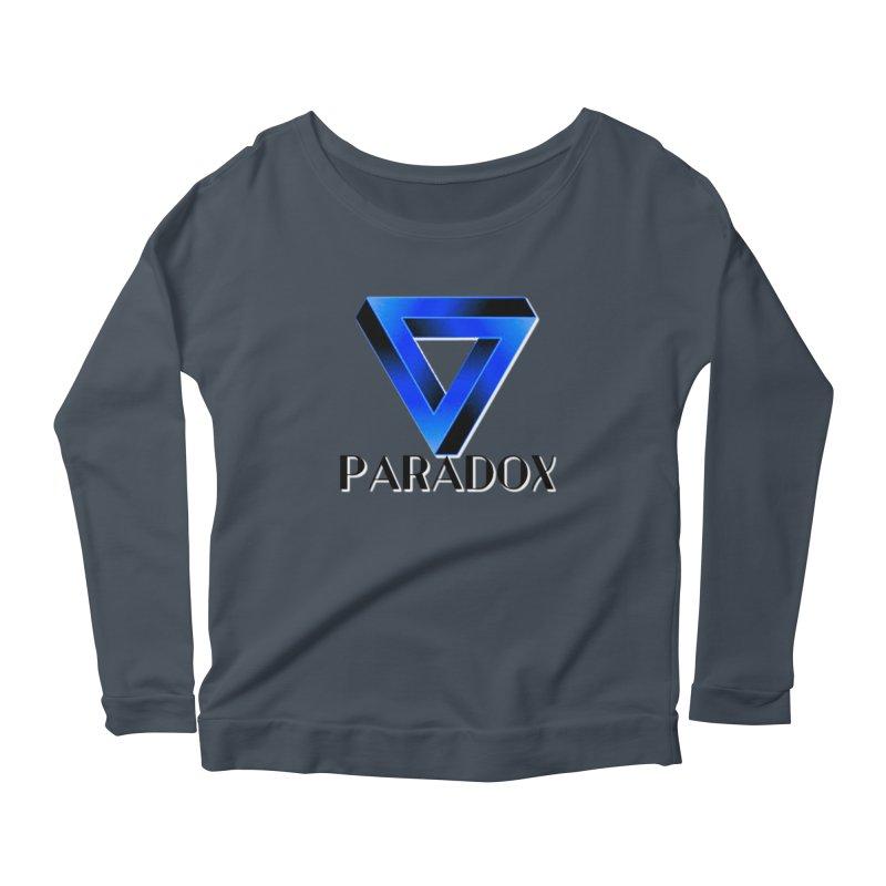 Paradox Logo (Gamer Girls) Women's Longsleeve T-Shirt by The Book Muse's Shop