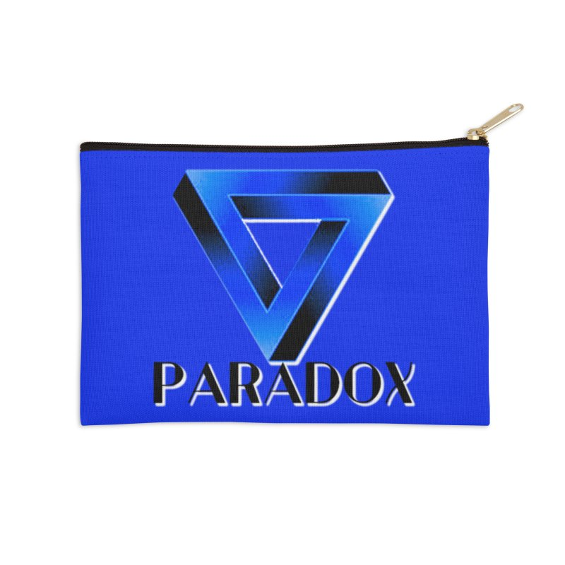Paradox Logo (Gamer Girls) Accessories Zip Pouch by The Book Muse's Shop
