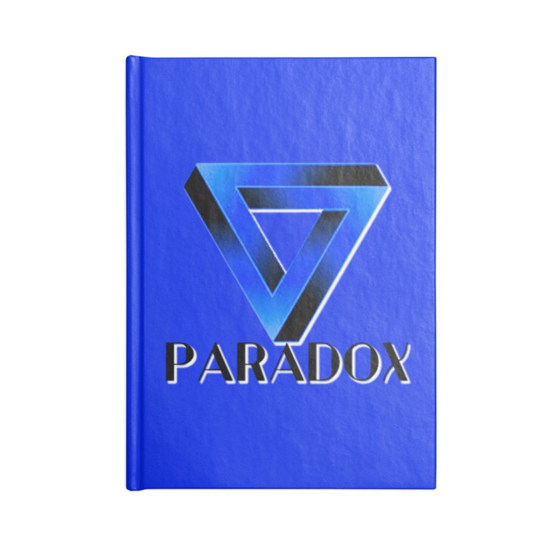 Paradox Logo (Gamer Girls) Accessories Notebook by The Book Muse's Shop