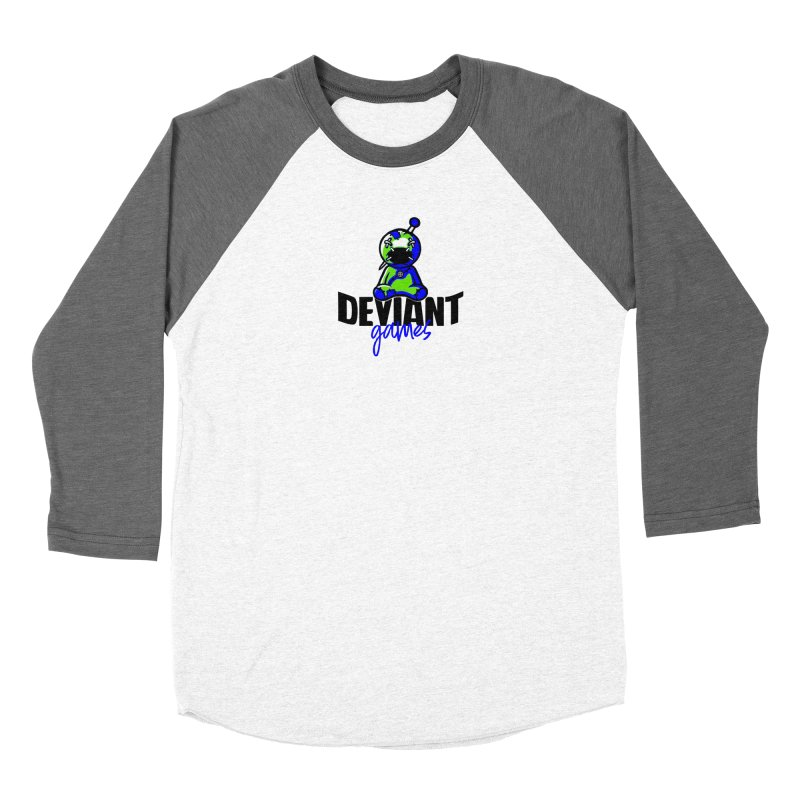 Deviant Games Logo Women's Longsleeve T-Shirt by The Book Muse's Shop