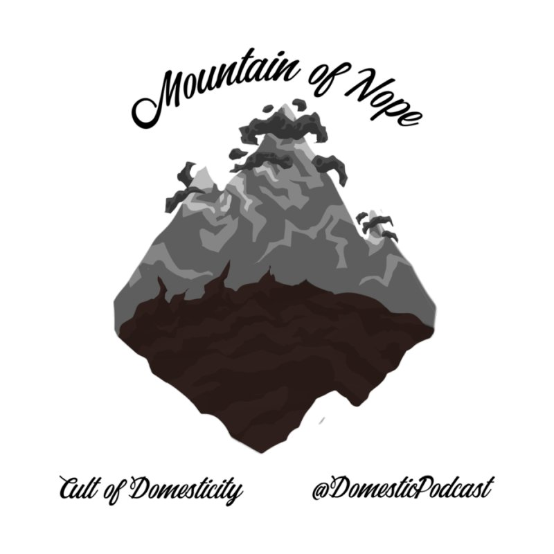 Mountain of Nope Accessories Bag by The Cult of Domesticity Podcast