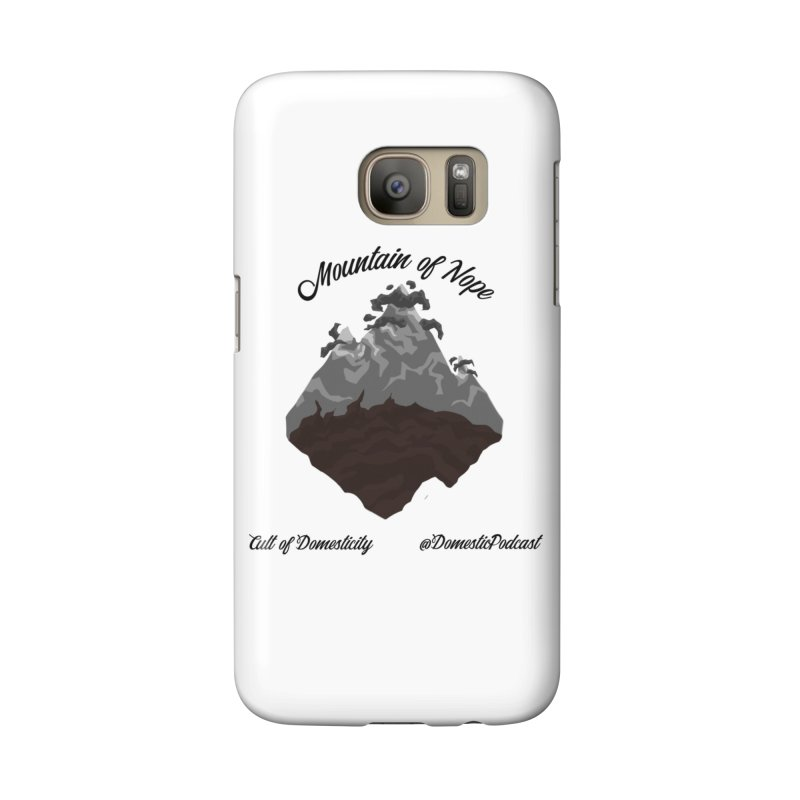 Mountain of Nope Accessories Phone Case by The Cult of Domesticity Podcast