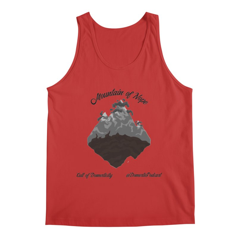 Mountain of Nope Men's Regular Tank by The Cult of Domesticity Podcast