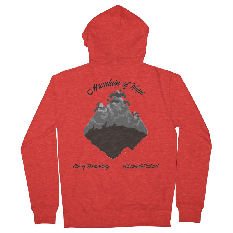 Mountain of Nope Men's Zip-Up Hoody by The Cult of Domesticity Podcast