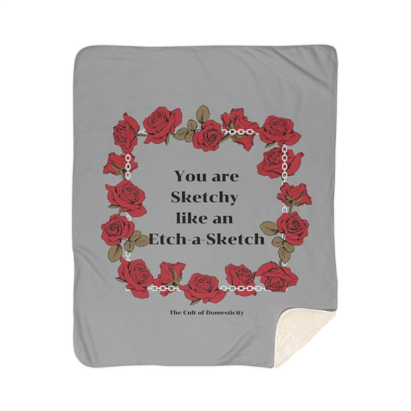 Etch-A-Sketch Home Blanket by The Cult of Domesticity Podcast