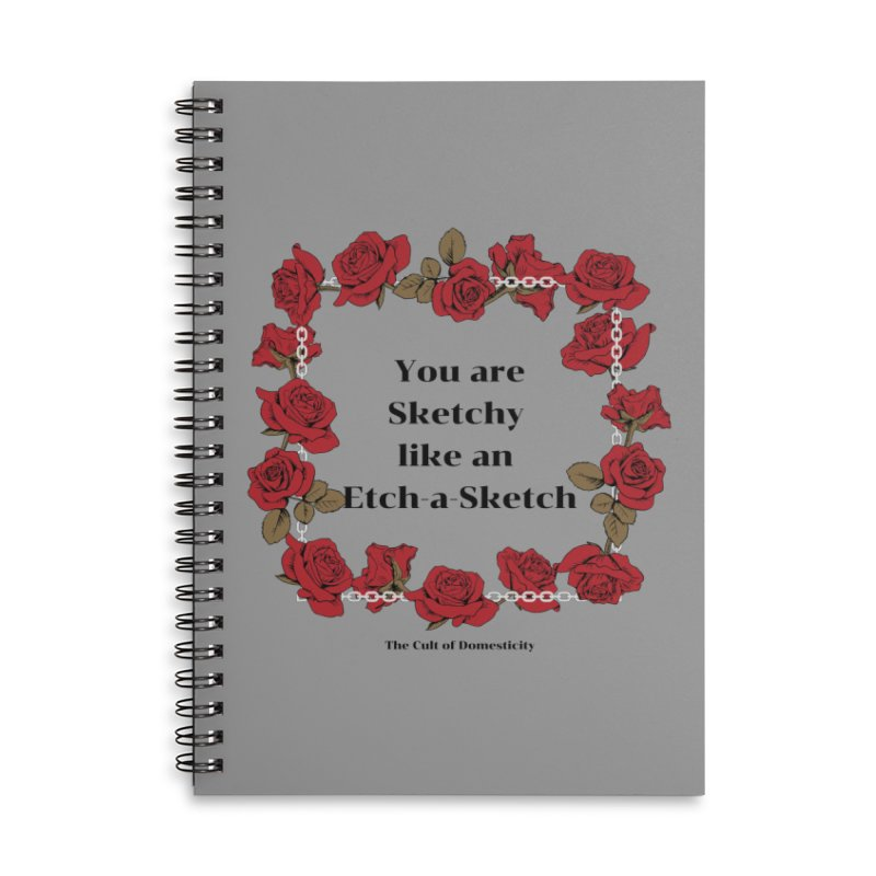 Etch-A-Sketch Accessories Notebook by The Cult of Domesticity Podcast