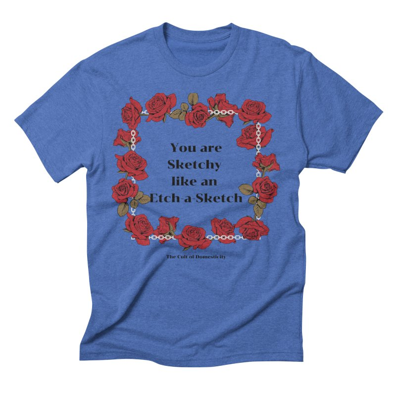Etch-A-Sketch Men's T-Shirt by The Cult of Domesticity Podcast